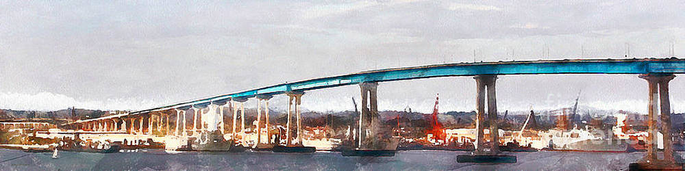 Wingsdomain Art and Photography - San Diego Coronado Bridge 5D24388wcstyle