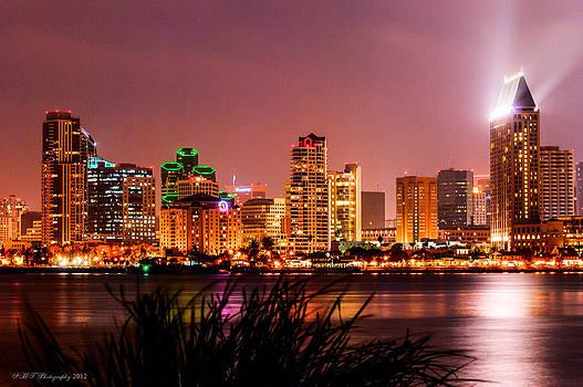 San Diego Lights by Stephanie Haertling