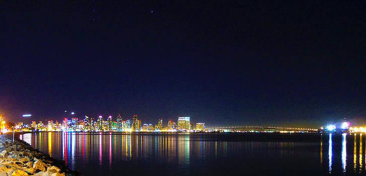 San Diego Nightlights by William  Dorsett