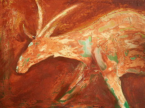 San Eland by Kristine Mueller Griffith