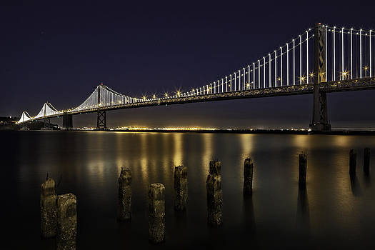 San Francisco Bay Bridge by Kevin L Cole