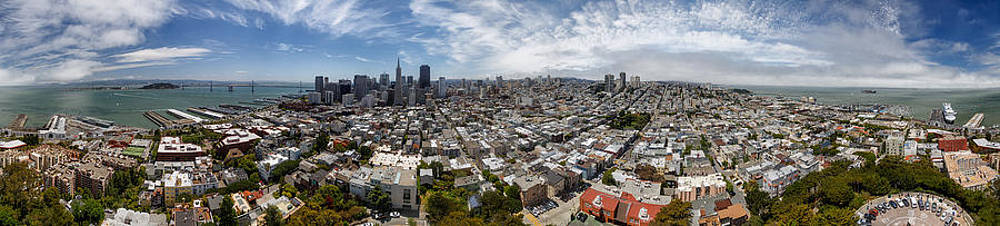 Adam Romanowicz - San Francisco Daytime Panoramic
