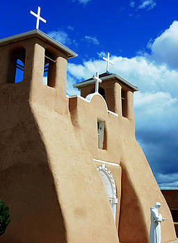 San Francisco de Asis Mission Church by Gia Marie Houck