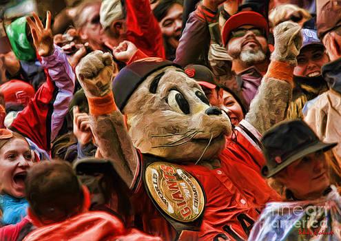 Blake Richards - San Francisco Giants mascot Lou Seal