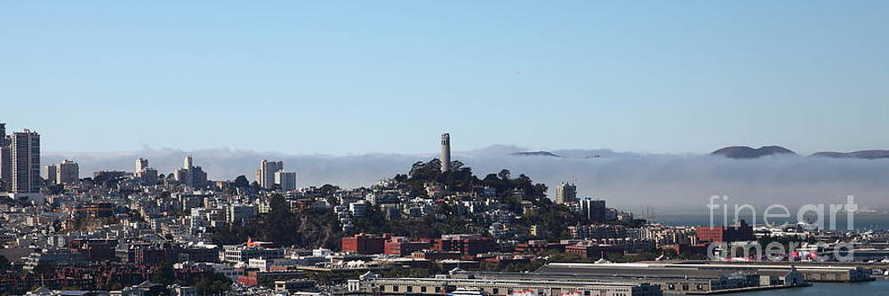 San Francisco Panorama 5D25373 by Wingsdomain Art and Photography