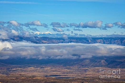 San Francisco Peaks by Ron Chilston