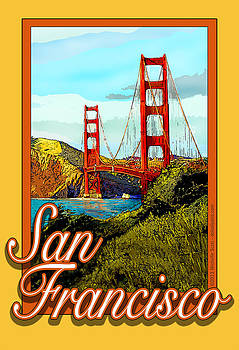 San Francisco Poster by Michelle Scott