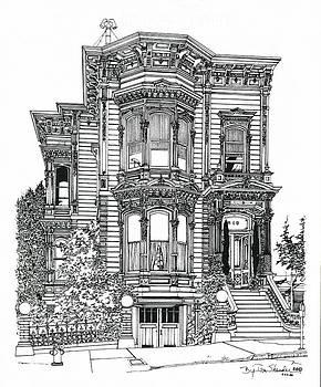 San Francisco Victorian   by Ira Shander