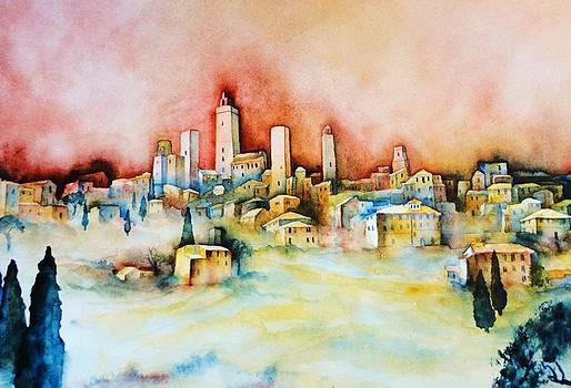 San Gimignano by Dagmar Helbig