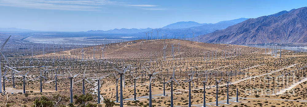 David  Zanzinger - San Gorgonio Pass Palm Springs Wind turbines