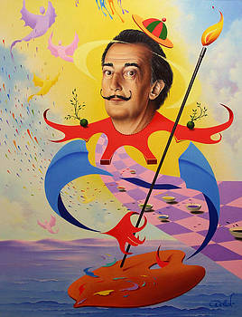 San Salvador Dali by Hans Doller