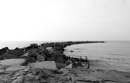 San Sebastian Beach by Gaitero