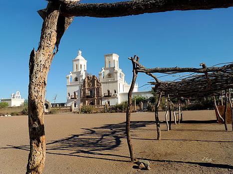 San Xavier Mission by Gordon Beck
