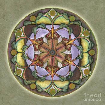 Sanctuary Mandala by Jo Thomas Blaine