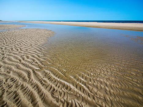 Sand bar structures no1 by Martin Liebermann