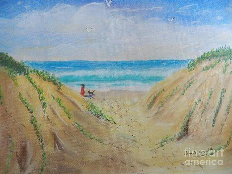 Sand Dunes by Pamela  Meredith