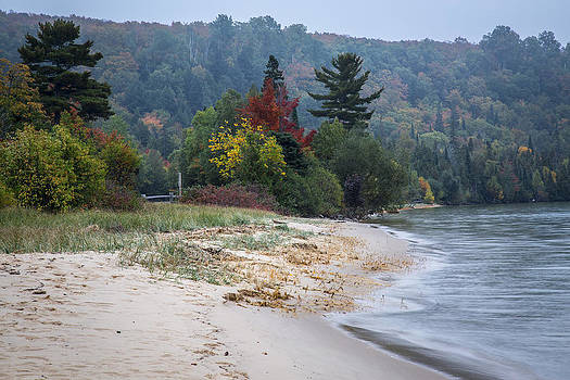 Jack R Perry - Sand Point Beach Lake Superior