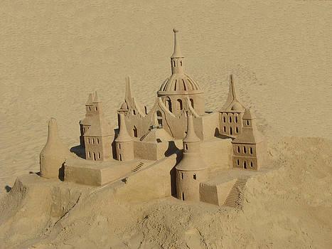 Sand sculpture by Carmine Arcaro