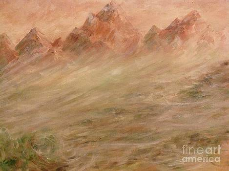 Sand storm in Wyoming  by Linea App