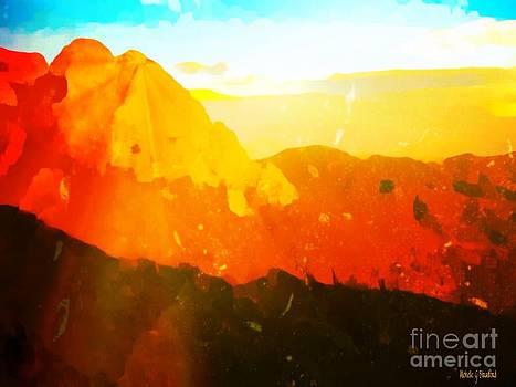 Sandia Sunrise  by Michelle Stradford