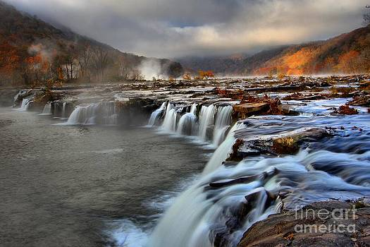 Adam Jewell - Sandstone Falls In Sandstone West Virginia