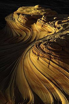 Sandstone Swirls by Joseph Rossbach