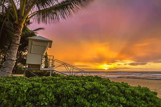 Sandy Beach Sunrise 11 by Leigh Anne Meeks