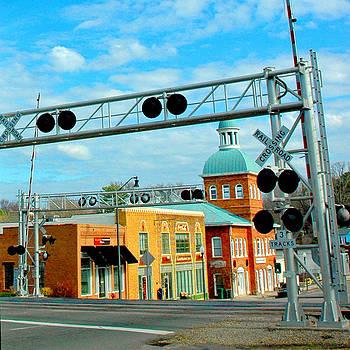 Sanford NC Downtown by DM Werner