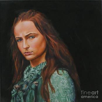 Sansa Stark by Alan Berkman
