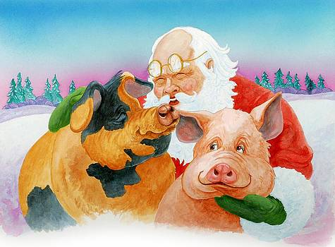 Santa and His Favorites by Eight Little Pigs Publishing