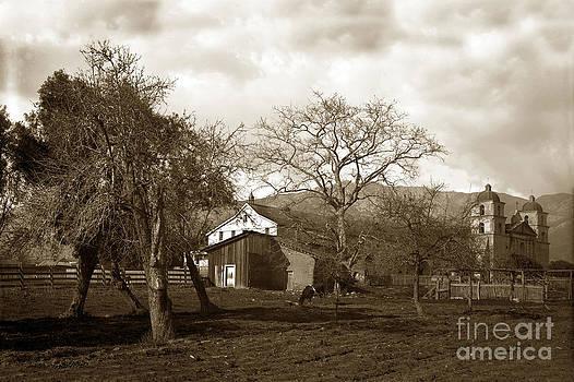 California Views Mr Pat Hathaway Archives - Santa Barbara Mission California Circa 1890
