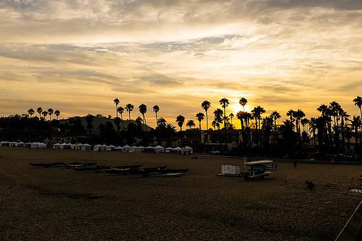 Santa Barbara Sunset by Tony Boyajian