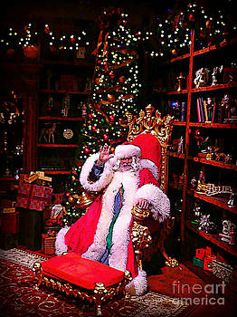 Santa Claus greeting by Scott Allison