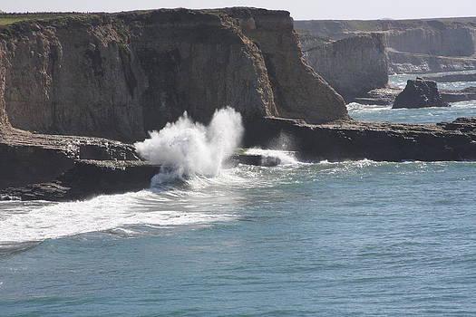 Santa Cruz Splash by Michael Smith