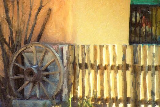 Santa Fe adobe by Carol Kinkead