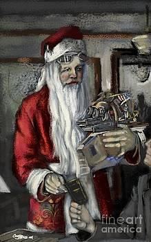 Santa Gets his Pilot's License by Carrie Joy Byrnes