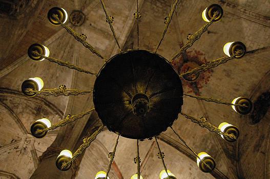 Santa Maria del Mar Basilica III by Kathy Schumann
