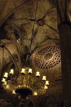 Santa Maria del Mar Basilica V by Kathy Schumann