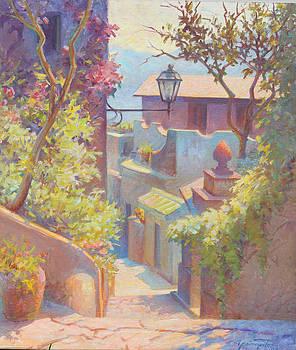 Santa Maria di Castellabati Italy by Ernest Principato