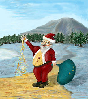Santa by Milos Andjelovic