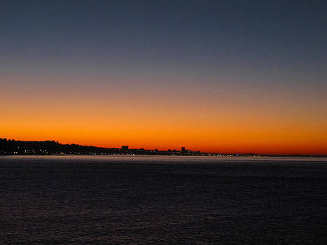 Santa Monica a by Russell Jenkins