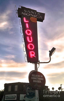 Gregory Dyer - Santa Monica Liqour Sign