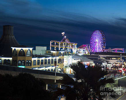 Santa Monica Night by Timothy OLeary