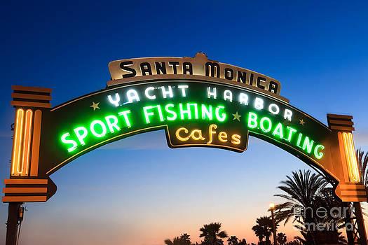 Paul Velgos - Santa Monica Pier Sign