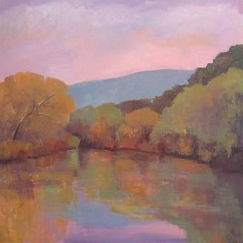 Santa Ynez River by Jennifer Boswell