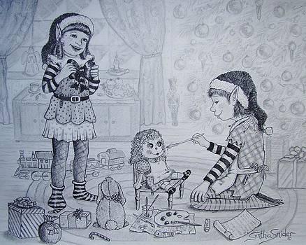 Santa's Helpers by Cynthia Snider