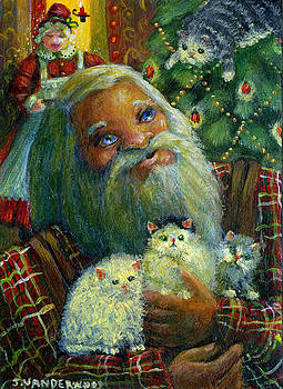 Santa's Kitties by Jacquelin Vanderwood