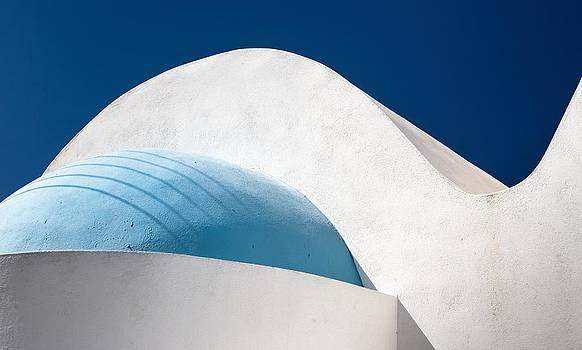 Santorini Abstract by Bjoern Kindler