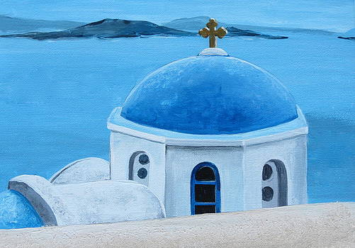 Santorini Greece by Paul Schoenig