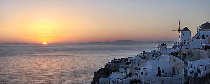 Santorini Sunset by Jack Daulton